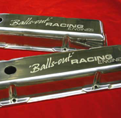 Custom Engraved Valve Covers