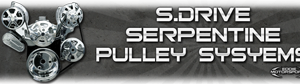 S.drive Serpentine Pulley System